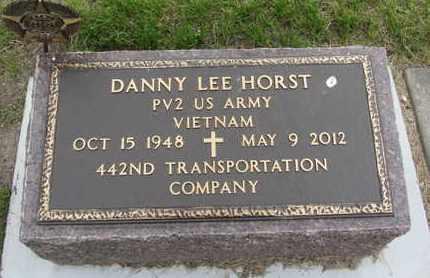 HORST, DANNY LEE - Nance County, Nebraska | DANNY LEE HORST - Nebraska Gravestone Photos