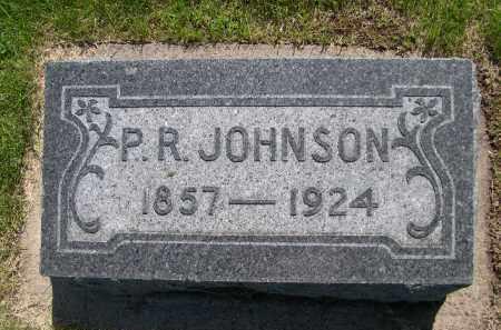 JOHNSON, P.R. - Nance County, Nebraska | P.R. JOHNSON - Nebraska Gravestone Photos