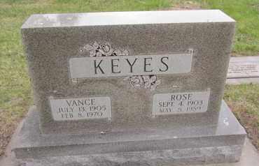 ANDERSON KEYES, ROSE - Nance County, Nebraska | ROSE ANDERSON KEYES - Nebraska Gravestone Photos