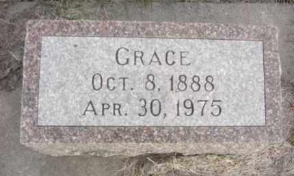 MCCLURE, GRACE - Nance County, Nebraska | GRACE MCCLURE - Nebraska Gravestone Photos