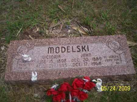 MODELSKI, JOHN - Nance County, Nebraska   JOHN MODELSKI - Nebraska Gravestone Photos