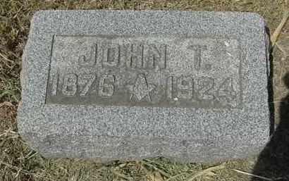 MORRISON, JOHN THOMAS - Nance County, Nebraska   JOHN THOMAS MORRISON - Nebraska Gravestone Photos