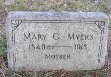 MYERS, MARY C. - Nance County, Nebraska | MARY C. MYERS - Nebraska Gravestone Photos
