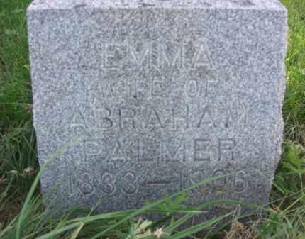 PALMER, EMMA - Nance County, Nebraska | EMMA PALMER - Nebraska Gravestone Photos
