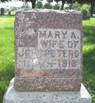 FURNEY PETERS, MARY ADA - Nance County, Nebraska | MARY ADA FURNEY PETERS - Nebraska Gravestone Photos