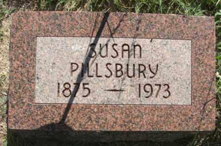 PILLSBURY, SUSAN - Nance County, Nebraska | SUSAN PILLSBURY - Nebraska Gravestone Photos