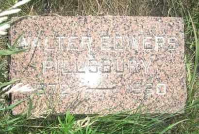 PILLSBURY, WALTER BOWERS - Nance County, Nebraska   WALTER BOWERS PILLSBURY - Nebraska Gravestone Photos