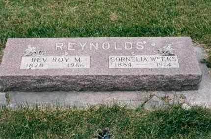 REYNOLDS, REV. ROY M. - Nance County, Nebraska   REV. ROY M. REYNOLDS - Nebraska Gravestone Photos