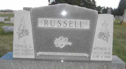 RUSSELL, GRACE G. - Nance County, Nebraska | GRACE G. RUSSELL - Nebraska Gravestone Photos