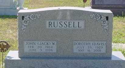 RUSSELL, DOROTHY JEAN - Nance County, Nebraska | DOROTHY JEAN RUSSELL - Nebraska Gravestone Photos