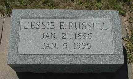 RUSSELL, JESSIE ELLA - Nance County, Nebraska   JESSIE ELLA RUSSELL - Nebraska Gravestone Photos