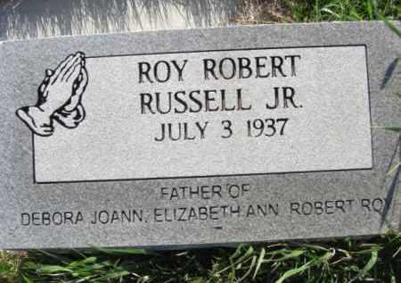RUSSELL, ROY ROBERT, JR. - Nance County, Nebraska   ROY ROBERT, JR. RUSSELL - Nebraska Gravestone Photos