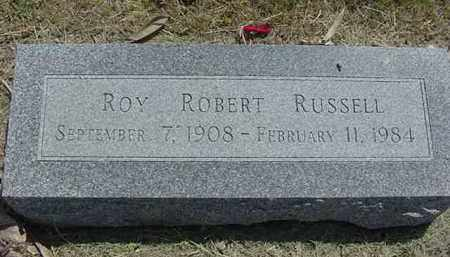 RUSSELL, ROY ROBERT - Nance County, Nebraska | ROY ROBERT RUSSELL - Nebraska Gravestone Photos
