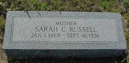 MORRISON RUSSELL, SARAH CATHERINE - Nance County, Nebraska | SARAH CATHERINE MORRISON RUSSELL - Nebraska Gravestone Photos