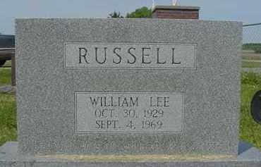 RUSSELL, WILLIAM LEE - Nance County, Nebraska | WILLIAM LEE RUSSELL - Nebraska Gravestone Photos