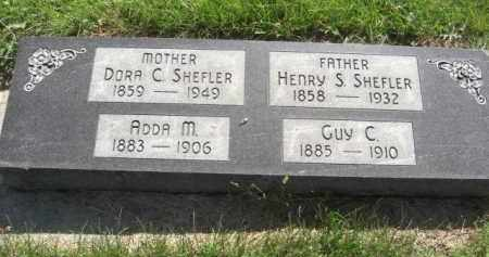 SHEFLER, GUY C. - Nance County, Nebraska | GUY C. SHEFLER - Nebraska Gravestone Photos