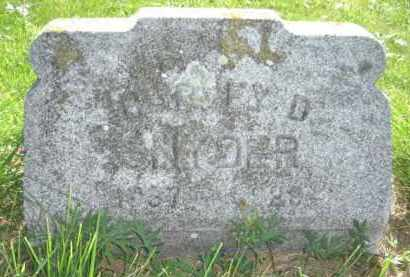 SNYDER, HARVEY DALE - Nance County, Nebraska   HARVEY DALE SNYDER - Nebraska Gravestone Photos