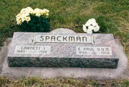 SPACKMAN, EDMUND. PAUL - Nance County, Nebraska | EDMUND. PAUL SPACKMAN - Nebraska Gravestone Photos