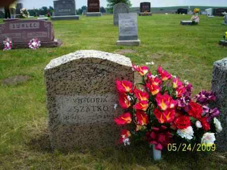 GEMBICA SZATKO, VICTORIA - Nance County, Nebraska   VICTORIA GEMBICA SZATKO - Nebraska Gravestone Photos
