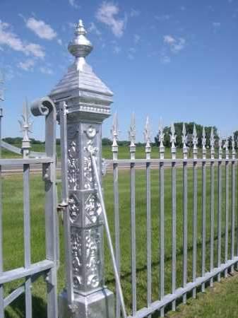 *VALLEY VIEW CEMETERY, A FENCE FOR THE - Nance County, Nebraska | A FENCE FOR THE *VALLEY VIEW CEMETERY - Nebraska Gravestone Photos