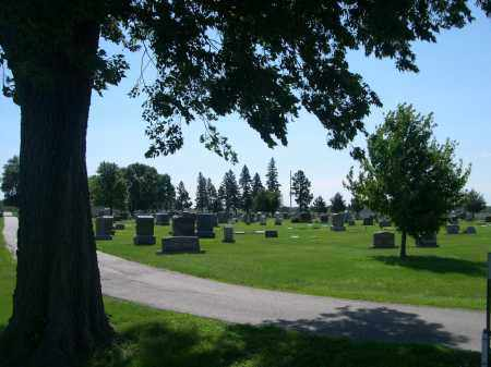 *VALLEY VIEW CEMETERY, VIEW OF - Nance County, Nebraska | VIEW OF *VALLEY VIEW CEMETERY - Nebraska Gravestone Photos