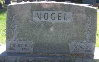 VOGEL, SADIE J. E. - Nance County, Nebraska | SADIE J. E. VOGEL - Nebraska Gravestone Photos