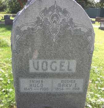 CUNNINGHAM VOGEL, MARY E. - Nance County, Nebraska | MARY E. CUNNINGHAM VOGEL - Nebraska Gravestone Photos