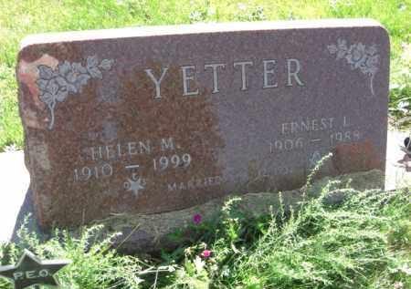 YETTER, HELEN M. - Nance County, Nebraska | HELEN M. YETTER - Nebraska Gravestone Photos