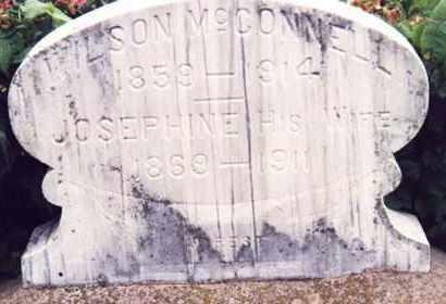 DILLON MCCONNELL, JOSEPHINE - Nemaha County, Nebraska   JOSEPHINE DILLON MCCONNELL - Nebraska Gravestone Photos