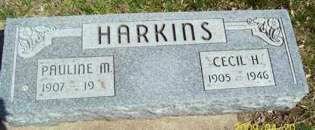 HARKINS, CECIL H. - Nuckolls County, Nebraska | CECIL H. HARKINS - Nebraska Gravestone Photos