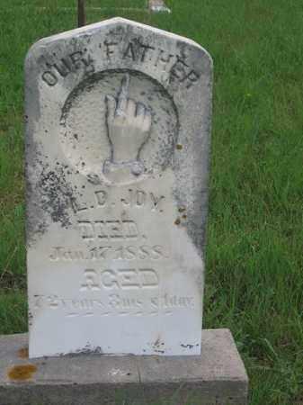 JOY, LUCIUS - Nuckolls County, Nebraska | LUCIUS JOY - Nebraska Gravestone Photos