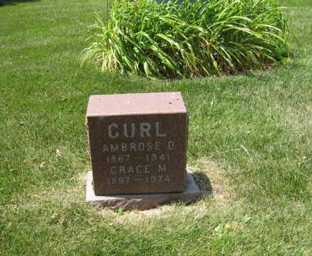 GRAHAM CURL, GRACE - Otoe County, Nebraska | GRACE GRAHAM CURL - Nebraska Gravestone Photos