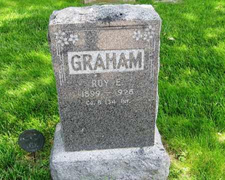 GRAHAM, ROY - Otoe County, Nebraska   ROY GRAHAM - Nebraska Gravestone Photos