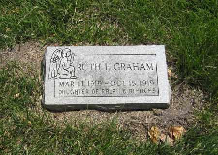 GRAHAM, RUTH - Otoe County, Nebraska | RUTH GRAHAM - Nebraska Gravestone Photos
