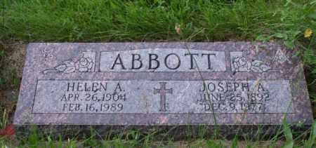 ABBOTT, HELEN A. - Otoe County, Nebraska | HELEN A. ABBOTT - Nebraska Gravestone Photos