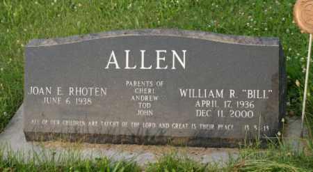 "ALLEN, WILLIAM R. ""BILL"" - Otoe County, Nebraska | WILLIAM R. ""BILL"" ALLEN - Nebraska Gravestone Photos"