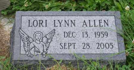 ALLEN, LORI LYNN - Otoe County, Nebraska | LORI LYNN ALLEN - Nebraska Gravestone Photos