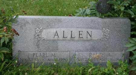 ALLEN, PEARL M. - Otoe County, Nebraska | PEARL M. ALLEN - Nebraska Gravestone Photos