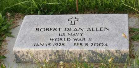 ALLEN, ROBERT DEAN - Otoe County, Nebraska | ROBERT DEAN ALLEN - Nebraska Gravestone Photos