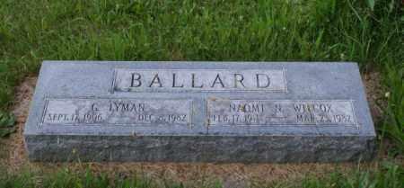 BALLARD, G. LYMAN - Otoe County, Nebraska | G. LYMAN BALLARD - Nebraska Gravestone Photos