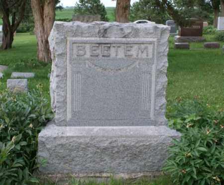 BEETEM, FAMILY - Otoe County, Nebraska | FAMILY BEETEM - Nebraska Gravestone Photos