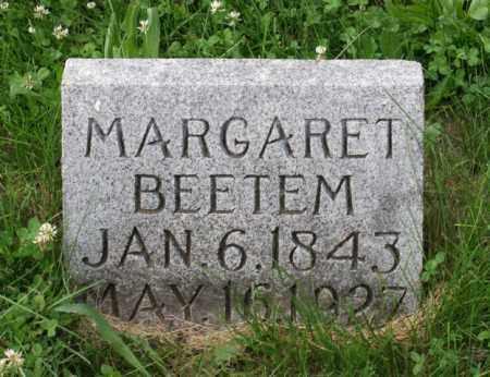 BEETEM, MARGARET - Otoe County, Nebraska | MARGARET BEETEM - Nebraska Gravestone Photos