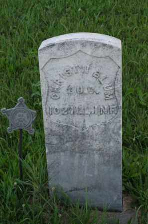BLUM, CHRIST'N - Otoe County, Nebraska | CHRIST'N BLUM - Nebraska Gravestone Photos