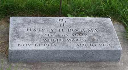 BOGEMA, HARVEY H. - Otoe County, Nebraska   HARVEY H. BOGEMA - Nebraska Gravestone Photos