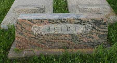 BOLDT, FAMILY - Otoe County, Nebraska | FAMILY BOLDT - Nebraska Gravestone Photos
