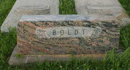 BOLDT, FAMILY - Otoe County, Nebraska | FAMILY BOLDT - Nebraska Gravestone Photos