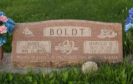 BOLDT, MARY - Otoe County, Nebraska | MARY BOLDT - Nebraska Gravestone Photos
