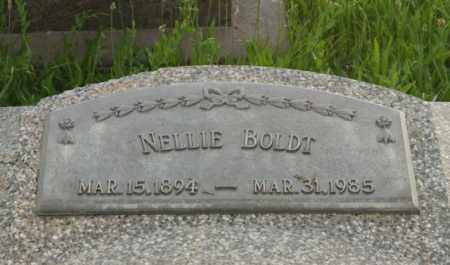 BOLDT, NELLIE - Otoe County, Nebraska   NELLIE BOLDT - Nebraska Gravestone Photos