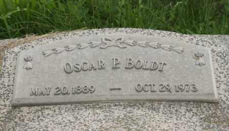 BOLDT, OSCAR P. - Otoe County, Nebraska | OSCAR P. BOLDT - Nebraska Gravestone Photos