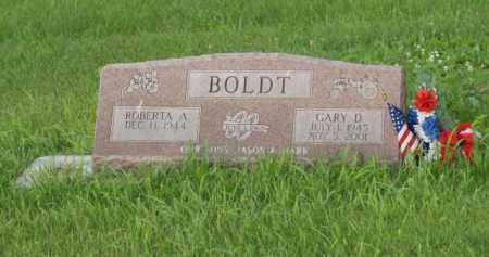 BOLDT, GARY D. - Otoe County, Nebraska | GARY D. BOLDT - Nebraska Gravestone Photos